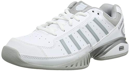 K-Swiss Damen Receiver IV Carpet Tennisschuhe, Weiß (White/High-Rise, 7 000070595), 40 EU