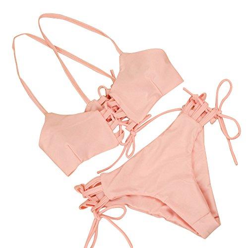 DINGANG Women's Bikini Sets Swimwear swimsuit Push up