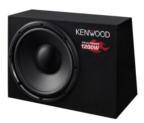 Kenwood KSC-W1200B Subwoofer (300mm, 1200 Watt, 1-er Stück)