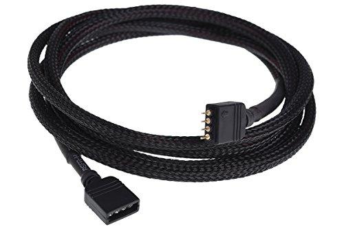 Phobya RGB 4pol Verlängerung 150cm - Schwarz Kabel Sonstige Kabel