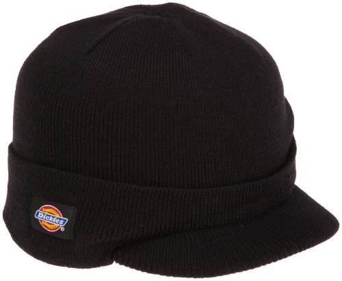 Dickies Black Radar With Cuff Knit Beanie Hat