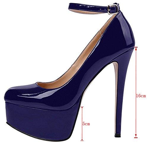 EKS, Scarpe col tacco donna Blau