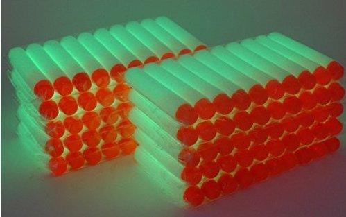 Sefon_Bwomen Weiß Fluoreszierende Schaumkugel Spielzeug Kugel