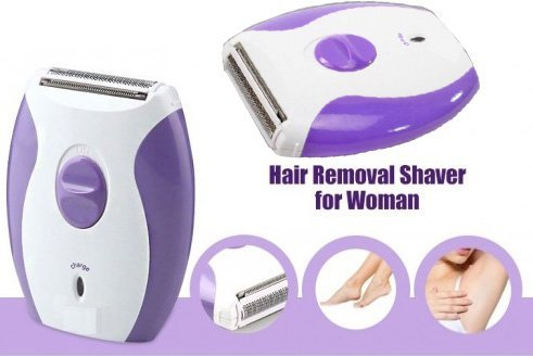 MaxelNova Ak2001 Rechargeable Lady Shaver Trimmer Razor