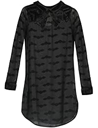 Iron Fist Madamned Shirt Dress - Black X-Small