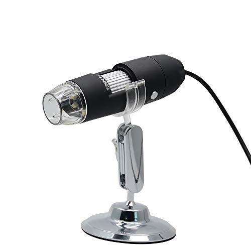 Microscopio elettronico per manutenzione industriale 1080P3 Million Three in One 1000 volte (con staffa argentata)