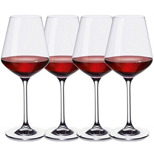 Villeroy & Boch Set Calice per Vino Rosso 4Uds. La Divina