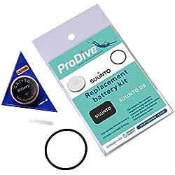 Scuba orings Suunto D9 Kit de Batterie de Rechange