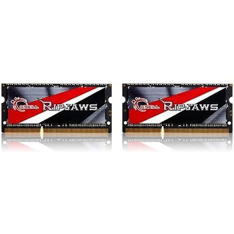 G-Skill Ripjaws - Memoria RAM (16 GB, DDR3 1600MHz SO-DIMM, CL 9, 2x 8 GB)