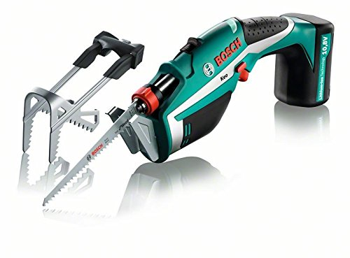 Bosch Home and Garden 0600861900 Keo Seghe da Giardino, 10.8 V, Green