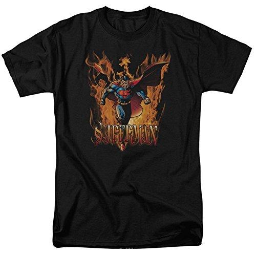 Superman DC Comics Through The Fire T-Shirt