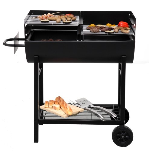 Tepro 1037″Detroit Barbecue a carbonella con trolley - 5