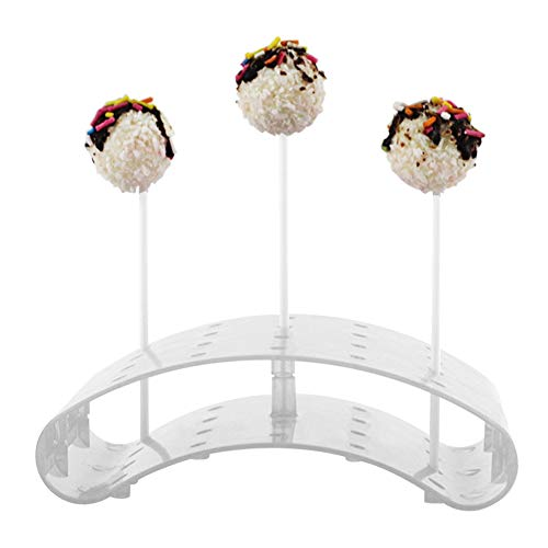 es, mit 20 Löchern, für Cupcakes, Tortenständer, durchsichtig, 1pc ()