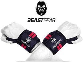 Fasce da polso Beast Gear – Fasce da Polso Professionali per Sollevamento Grossi Pesi
