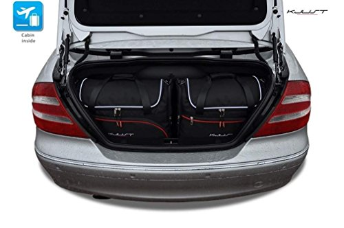 CAR FIT TASCHEN FÃœR MERCEDES CLK CABRIO W209, 2002-2010 KJUST SET