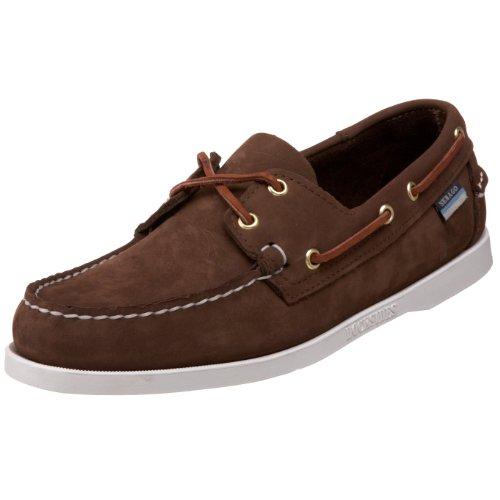 Sebago Docksides Chaussures Bateau Homme Marron