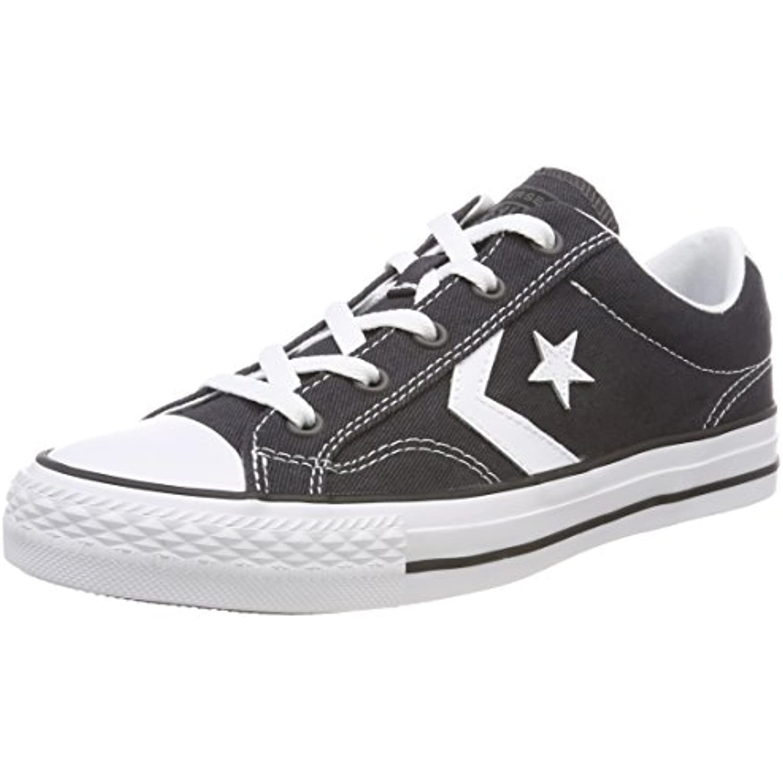 Converse - Star Player Ox Almost White/Black, Baskets Mixte Adulte - Converse B078W2B5CF - 956e4a