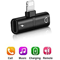 Adaptador para Auriculares, Adaptador de Enchufe Compatible con los teléfonos móviles X/XS MAX/XR / 8/8 Plus / 7/7 Plus