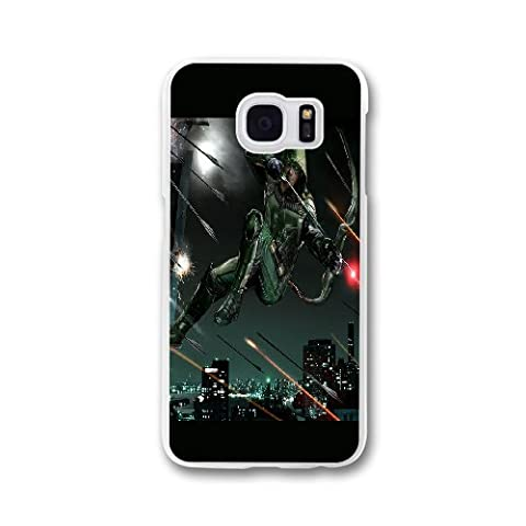 Custom personalized Case-Samsung Galaxy S7 Edge-Phone Case Green Arrow Design your own cell Phone Case Green