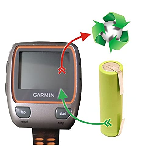 PREMIUM-Akkutauschservice/Akkuwechsel für Laufuhr/GPS Garmin Forerunner 310 XT mit vorab zugesendetem Versandmaterial *Akkutauschen.de ist ausgezeichnet mit dem Qualitätssiegel Werkstatt N des Rates für Nachhaltige (Garmin 310 Xt)