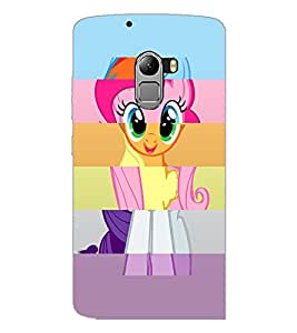 PrintDhaba Puzzled Image D-5063 Back Case Cover for LENOVO K4 NOTE A7010 (Multi-Coloured)