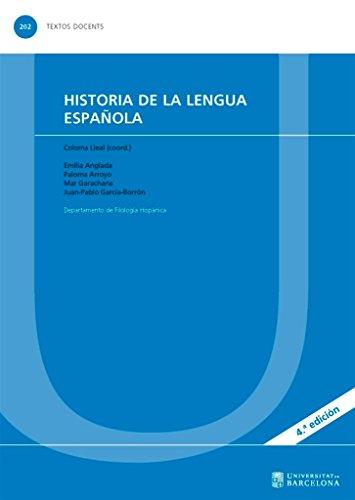 Historia de la lengua española por R. Lapesa