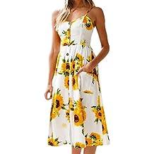 Suchergebnis auf Amazon.de für: kleid mit sonnenblumen