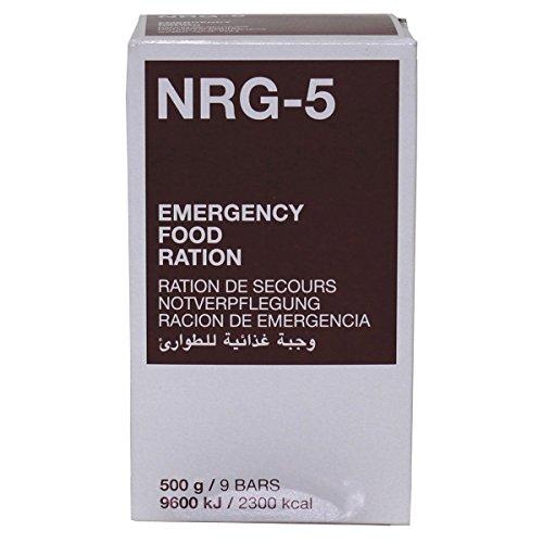 MSI Notverpflegung NRG-5 Notration 9 Riegel