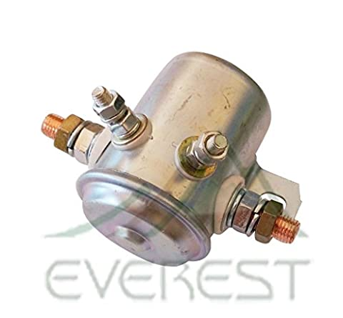 Solenoid for Golf Cart & Heavy Duty Industrial Applications 24 Volt Continuous Duty by Crank-n-Charge