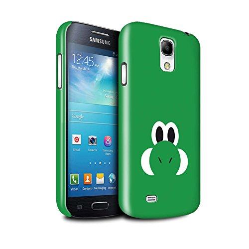STUFF4 Glanz Snap-On Hülle / Case für Samsung Galaxy S4 Mini / Yoshi / Yossy Inspiriert Muster / Retro-Spiele Figuren - Max S4 Fall Galaxy 4