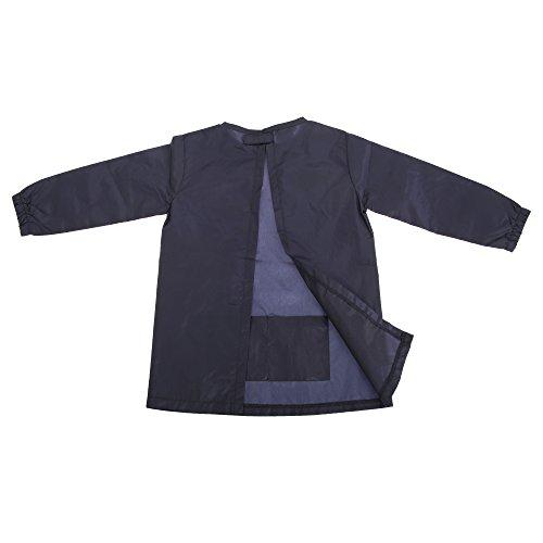 larkwood-kinder-malschutz-wasser-abweisend-s-m-marineblau