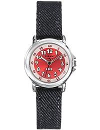 Trerice  0 - Reloj de cuarzo unisex, con correa de tela, color negro