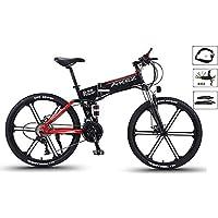 HSART 26'' Elektrisches Mountainbike Elektro Fahrräder Abnehmbarer Lithium-Ionen-Akku mit Großer Kapazität (36V, 350W), E-Fahrrad 27-Gang Getriebe DREI Arbeitsmodi