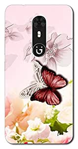 FROST IMAGES High Quality Silicon Printed Designer Back Cover for Gionee A1
