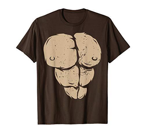 Affe T-Shirt Gorilla Brust Kostüm