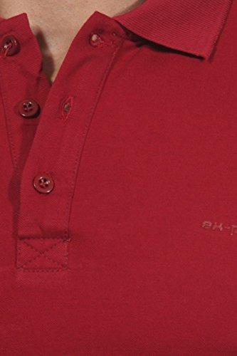 EX-PENT Poloshirt Bordeaux