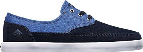 Emerica  The Troubadour Low,  Scarpe da skateboard uomo Blau - Bleu (Navy/Blue 421)