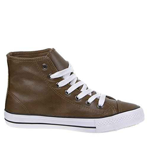 Damen Schuhe, AB-0057-1, FREIZEITSCHUHE Hellbraun