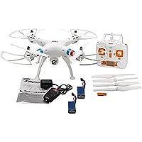 Drone Syma X8C Venture 2,4 Ghz. 4 canales, 2 baterias, con giróscopo de 6 ejes y Camara HD incluida