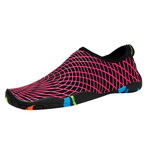 VECDY Damen Sandalen Herren Schuhe Damen Sommer Womens Wasser Schnell Trocknend Barfuß Tauchen Sport Pool Beach Walking Yoga Schuhe Hausschuhe 35-47 -