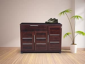 Royaloak Milan Shoe Rack (Walnut)