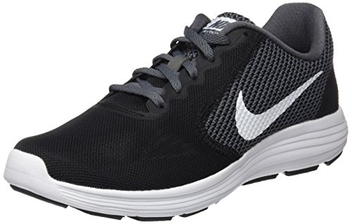 Nike Revolution 3, Chaussures de Running homme, Noir (Black/white-dark Grey-anthracite), 40 EU