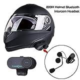 JullyeleDEgant 800 Mt Professionelle Intercom Headset Drahtlose Interphone Bluetooth Motorrad Motorrad Helm Interphone Headset