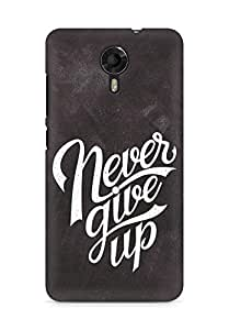 AMEZ never give up Back Cover For Micromax Canvas Xpress 2 E313