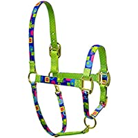 Rosso Haute alta moda Design Horse PJ Pet Products Jelly Bean Premier qualità testa di cavallo collare, Piccolo