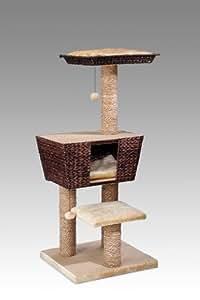 europet bernina 431 405581 arbre chat 48 x 48 x 114 cm animalerie. Black Bedroom Furniture Sets. Home Design Ideas