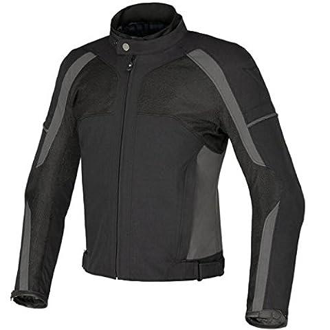 Juicy Trendz Blindé Imperméable Cordura Textile Pour Des Hommes Moto Blouson Grey