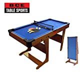 Best Billiard Tables - BCE Clifton 4ft 6in Folding Pool Table Review