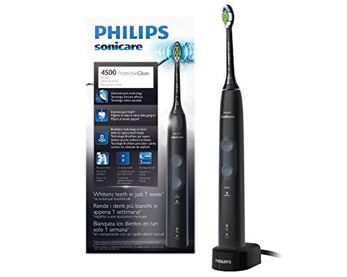 Philips Sonicare HX6830/44 Spazzolino Elettrico con Tecnologia Sonicare, Singolo Nero