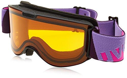 Uvex Skibrille skyper LGL Black, One Size